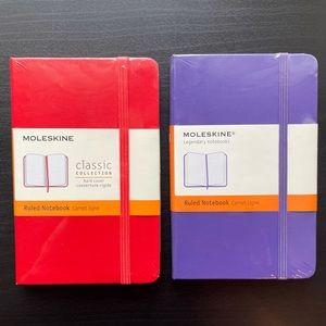 Moleskine Pocket Size Notebooks